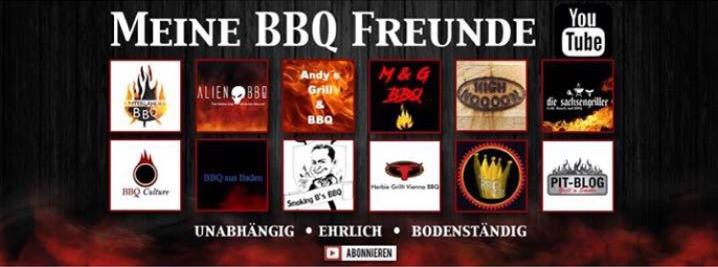 Pit-Blog und die BBQ-Freunde
