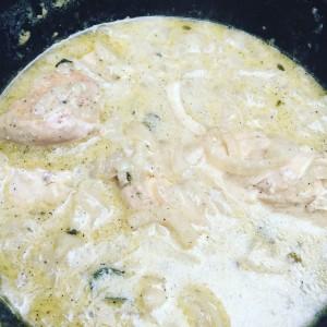 Zwiebel Hähnchen Rezept von Pit-blog