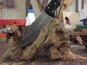 Handgefertigter Messerblock von Pit-Blog