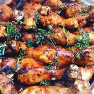 Drumsticks oder Hühnchenschenkel rezept von pit-blog