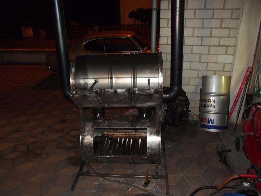Bauanleitung für einen großen Smoker (Double Barrel Smoker)  pit-blog